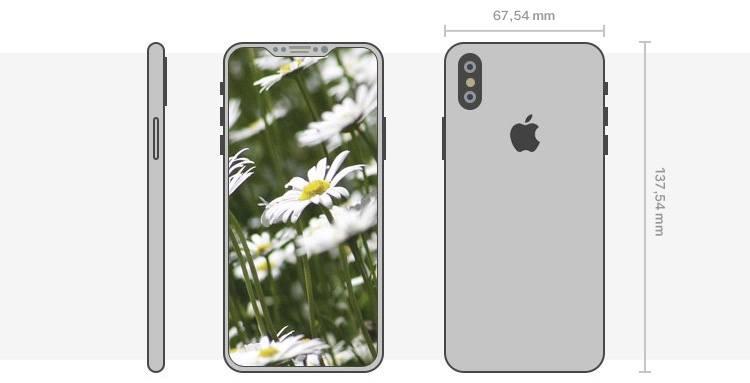 iPhone 8 - Rahmenlos mit OLED Display